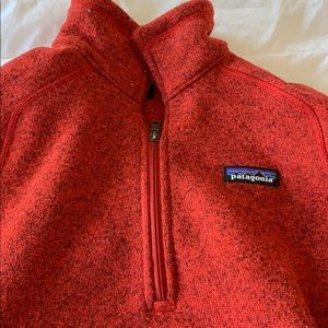 red patagonia better sweater